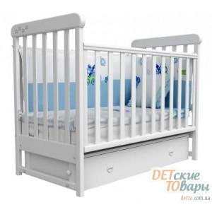 Детская кроватка Верес Соня ЛД12 (маятник + ящик)
