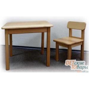 """Детский столик + два стульчика """"Верес"""" (дерево)"""