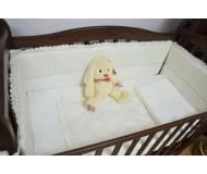 """Защита (бампер) для кроватки Верес """"Cream Ivy"""" 4 ед."""