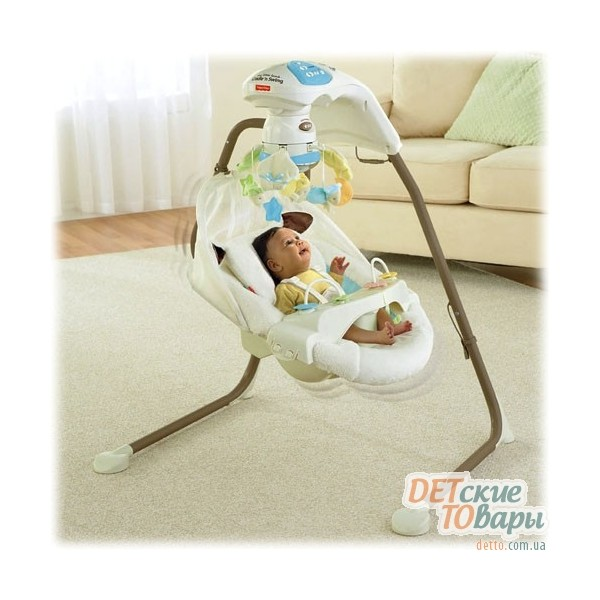 fisher-price my little lamb-cradle-n-swing-y57