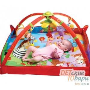 Детский развивающий коврик Tiny Love  / Gymini® Move & Play Разноцветное сафари
