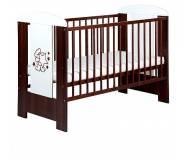 Детская кроватка Klups Mis z gwiazdkami (Мишка со звёздочками) без ящика