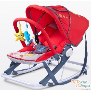 Детское кресло-качалка Caretero Aqua