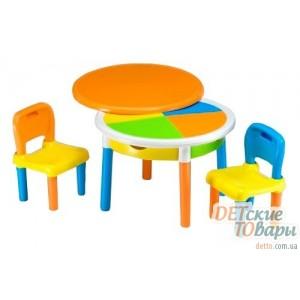Детский столик и 2 стульчика Tega MT-002 multi 1812
