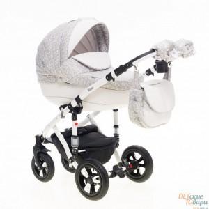 Детская универсальная коляска 2 в 1 Bebe-Mobile Toskana Кожа