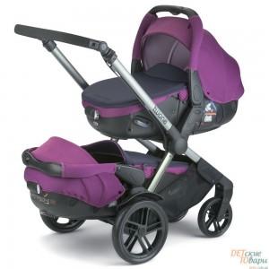 Детская универсальная коляска для двойни 2 в 1 Jane Twone
