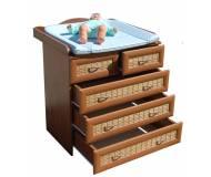 Детский пеленальный стол-комод КД-01(бамбук)
