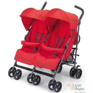 Детская прогулочная коляска для двойни Cam Twin Flip