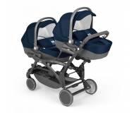 Детская универсальная коляска для двойни 2 в 1 Cam Twin Pulsar