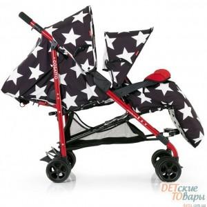 Детская прогулочная коляска для двойни Cosatto Shuffle Tandem