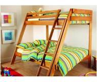 Детская Двухъярусная кровать Sportbaby Чердак