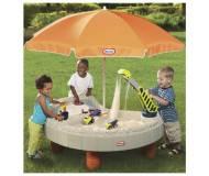 Детская песочница-столик Little Tikes Веселая Стройка 401N