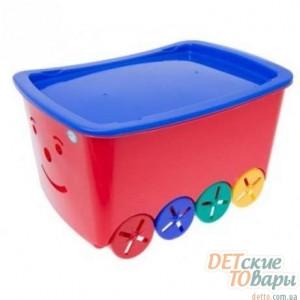 Детский ящик для игрушек Tega Play 52L