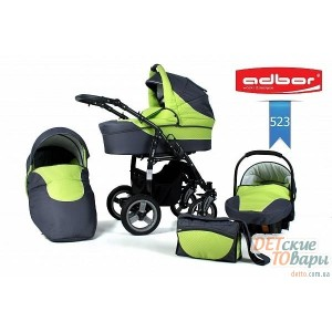 Детская универсальная коляска 2в1 Adbor Zipp