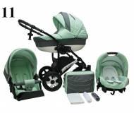 Детская универсальная коляска 2в1 Mikrus Venezia