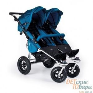 Детская прогулочная коляска для двойни TFK Twinner Twist Duo