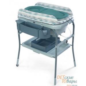 Детский пеленальный столик с ванночкой Chicco Cuddle & Bubble 79348