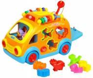 """Развивающая игрушка Huile Toys """"Веселый автобус"""" 988."""