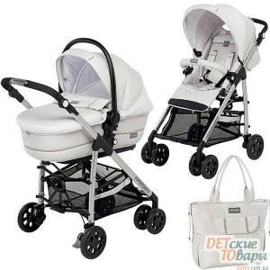 Детская прогулочная коляска 2 в 1 FoppaPedretti TUO