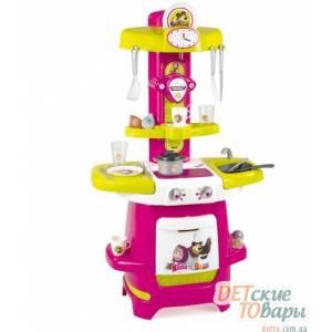 Детская интерактивная кухня Smoby Маша и Медведь 310700