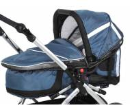 Люлька  TFK MultiX Carrycot  Carbo Steelblue