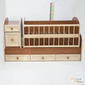 Детская кроватка-трансформер Колисковий Свiт