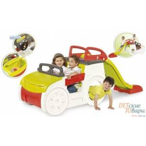 Детская горка Smoby Машина приключений 840200