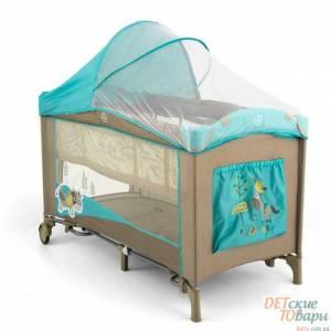 Детская кроватка-манеж Milly Mally Mirage Deluxe