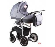 Детская универсальная коляска 2 в 1 Adamex Active Len