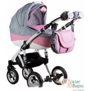 Детская универсальная коляска 2 в 1 Adamex Erika Len