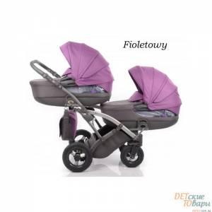 Детская универсальная коляска для двойни Tako City Move Duo