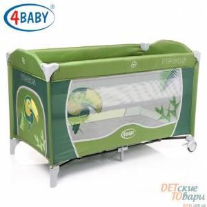 Детская кроватка-манеж 4 Baby Vegas
