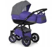 Детская универсальная коляска 2 в 1 Riko Expander Mondo Вlack line