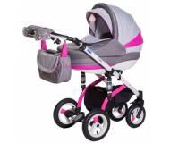 Детская универсальная коляска 2 в 1 Adamex Lara Rainbow 2016