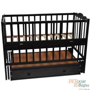 Детская кроватка Кузя Анастасия с ящиком