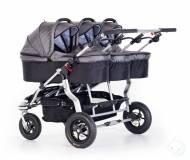Детская универсальная коляска для тройни TFK Trio Twist Triplet