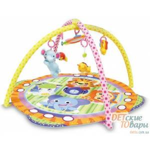 Детский развивающий коврик Bertoni Safari 1030028