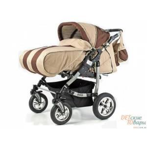 Детская коляска-трансформер для двойни Adbor Duo NEW