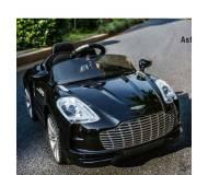 Детский электромобиль Bambi Aston Martin (M 2774 EBRS-2)