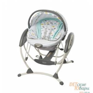 Детское кресло-качалка Graco Glider Elite