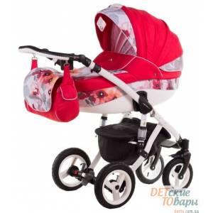 Детская универсальная коляска 2 в 1 Adamex Aspena Акварель