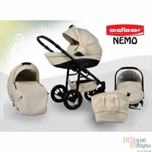 Детская универсальная коляска 3 в 1 Adbor Nemo