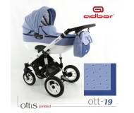 Детская универсальная коляска 3в1 Adbor Ottis
