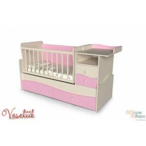 Детская кроватка-трансформер Veseliil Company