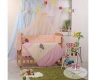 Детский постельный комплект Маленькая соня Воображуля 7 ед