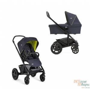Детская универсальная коляска 2в1 Joie Chrome DLX