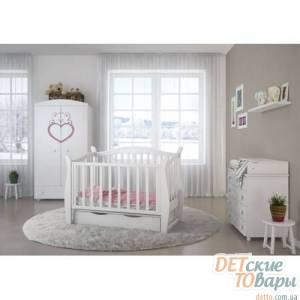 Детская кроватка Angelo Lux-1