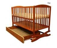Детская кроватка Twins с ящиком