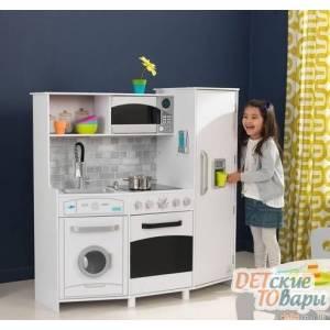 Детская интерактивная кухня со звуковыми и световыми эффектами KidKraft 53369