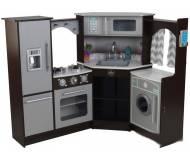 Детская интерактивная кухня KidKraft Espresso 53365